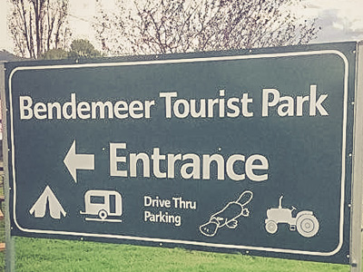 Bendemeer Tourist Park owners